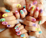 Kids를 위한 공장 Price와 Excellent Export Services Cartoon Full Nail Sticker
