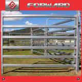 Panneaux enduits galvanisés plongés chauds de frontière de sécurité de bétail de poudre