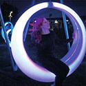 LEDの屋外の照明庭ライト公共の振動