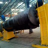 Positionneur de soudage à colonne jumelée en forme irrégulière pour réservoir de remorque