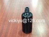 100ml Flessen van het Glas van de essentiële Olie de Zwarte, de Violette Zwarte Flessen van het Glas voor Lotion