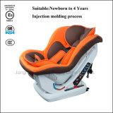 Sede di automobile di sicurezza del bambino con la certificazione dell'ECE per appena nato a 4 anni di bambino
