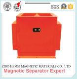 Separador magnético permanente vertical para productos químicos / carbón / granos / plástico