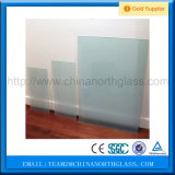 4-12 de China de fábrica milímetros de ácido branco do preço gravaram o vidro geado de vidro