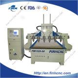 Grabado del CNC y cortadora de madera FM-1325 con 6 pistas y alta exactitud