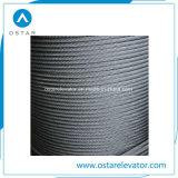 Cuerda de alambre de acero calificada para el gobernador de velocidad del elevador (OS26)