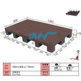 Pálete plástica Dw-1411e1 de uma superfície plana de 15 pés