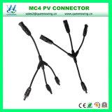 Mc4 da Y-Filial 1 a 3 conetor de cabo solar de IP67 (MCY301)