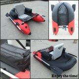 Einzelnes aufblasbares Bauch-Boots-bequemes kleines Fischerboot