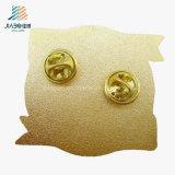 주문 사기질 페인트 아연 합금 도매 금속 접어젖힌 옷깃은 싸게 핀으로 꼿는다