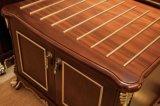 Самомоднейшей мебель проекта квартиры спальни мебели гостиницы подгонянная древесиной (NL-TF160)