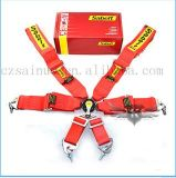 Alta calidad que compite con el cinturón de seguridad 4 puntas de la seguridad de seguridad de la correa del cinturón
