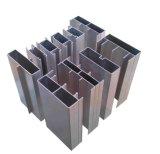 Perfil material de aluminio del aluminio de la construcción de la pared de cortina de la fachada