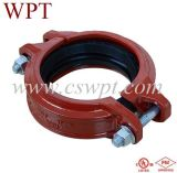 UL&FM Certificate Malleable Iron Fittings를 가진 Wpt Brand Shouldered Coupling