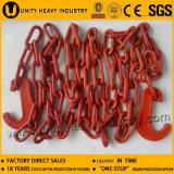 Хлестать связывая поднимаясь цепь с изогнутым крюком