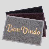 Waterproof não Doormats plásticos do quarto Home da entrada da boa vinda do laço dos macarronetes do espaguete do vinil do PVC do enxerto