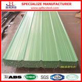 Feuille enduite d'une première couche de peinture de toiture de PPGI enduite par couleur
