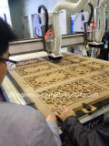 Doppelte Köpfe hölzerne CNC-Fräser-Maschine