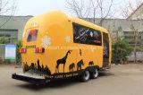 Neues Produkt, Qualitäts-mobiler Nahrungsmittelschlußteil, Nahrung Van
