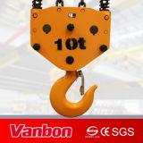 gru Chain elettrica dell'altezza libera bassa 10ton (scegliere/velocità doppia)