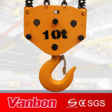 Élévateur d'Eelctric, élévateur à chaînes électrique d'espace libre inférieur de 10 tonnes