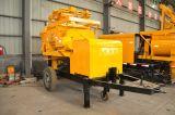 Eixo dobro bomba forçada do misturador concreto com eficiência elevada e Reliablity