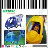 Carritos de la compra de los niños con el cochecito de bebé para el alquiler