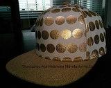 Шлем Hip-Hop способа Brim Cacvas кроны PU изготовленный на заказ