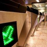 赤外線アクセス制御入口の障壁を折り返し振りなさい