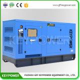 тип тепловозного генератора 100kVA молчком с высоким качеством двигателя Perkins