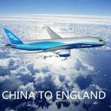 Servicio aéreo, carga de China a Glasgow, Gla, Inglaterra