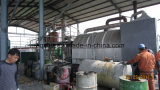 Shell de la palma a la pirolisis activa de la planta 10ton del refinamiento del carbón