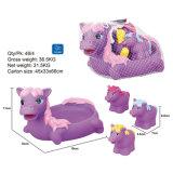 Animal de jouet de salle de bains de douche de sifflement d'été de gosses de plastique
