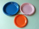 """6 """" /7 """" /9 """" /10 """" plaque d'usager colorée par plastique remplaçable de thème de vaisselle"""