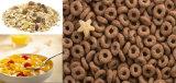 Produção do floco de milho dos cereais de pequeno almoço dos flocos de milho do preço de fábrica que faz a máquina