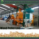 Chaîne de production de boulette en bois d'essence de biomasse de vente d'usine pour la sciure