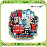 Ricordo ecologico personalizzato Londra (RC- Regno Unito) dei magneti del frigorifero della decorazione promozionale dei regali