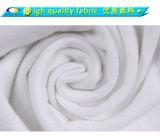 Unbelegtes weißes Massenbaumwollec$v-ansatz T-Shirt