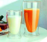 Umweltfreundliches Blumen-Cup-Büro-Milch-Cup-Glaskaffeetasse