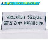 T-shirt du coton de 95%/5% Elastane