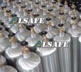Bottiglie appiattite dell'alluminio di Doxide del carbonio della ricarica