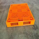 A carga 1500kg/da carga de estática 5000kg /Dynamic escolhe a pálete do plástico de /PP do HDPE da maneira da face 4