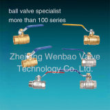 3 pollici Brass Ball Valve con Lock