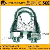 직류 전기를 통한 강철 DIN 741 유형 철사 밧줄 클립