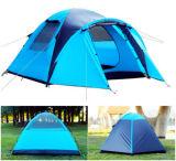 3 oder 4 Personen-automatisches im Freien wasserdichtes kampierendes Zelt