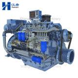 Motor marina del motor diesel de Deutz WP6C 226B con la caja de engranajes para la nave del barco