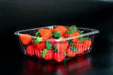 Bandeja plástica disponible del embalaje de la fruta para toda la clase de fabricación de empaquetado del surtidor de la fruta del animal doméstico de la fruta