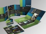 Broschüre / Tri-Folding Promotion Seite
