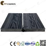 Decking plástico fireresistant do composto WPC da madeira contínua de preço de fábrica