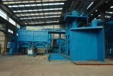 Máquina de bastidor de proceso de arena de la fuente V